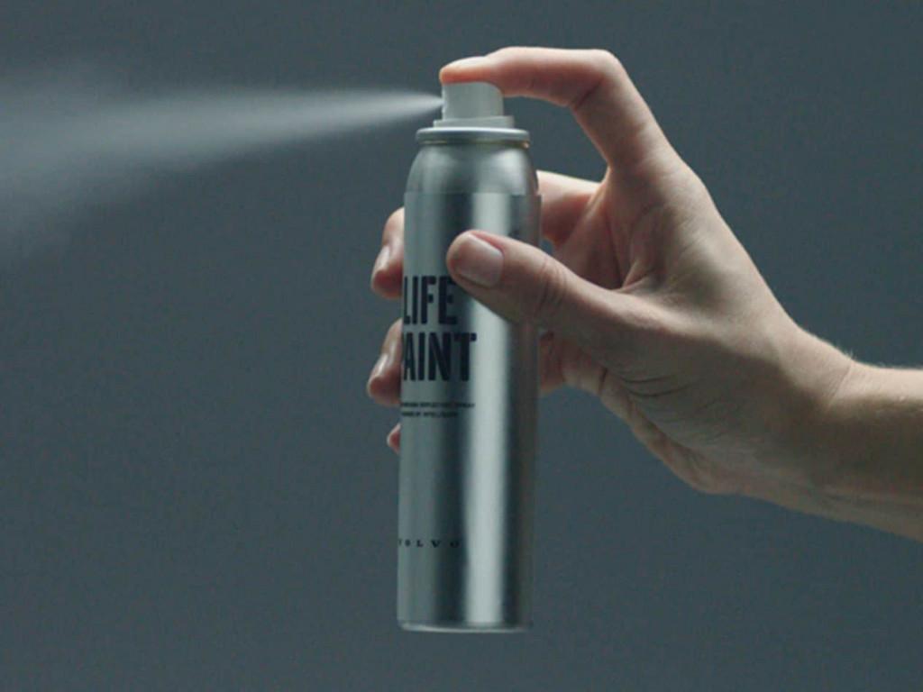 """沃尔沃正式发售 Life Paint 夜光喷雾剂,让你的夜晚"""""""
