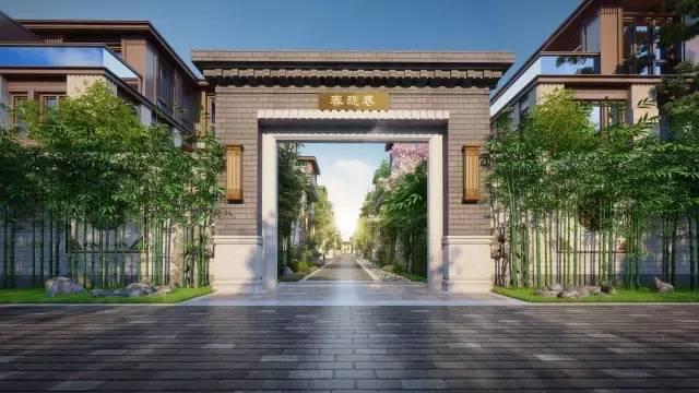 中国中式别墅双子星座,风靡大江南北,惊艳杭州