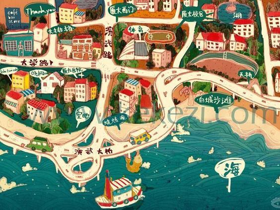 """关于厦门:每个人心中,都有一个隐秘乐园"""""""