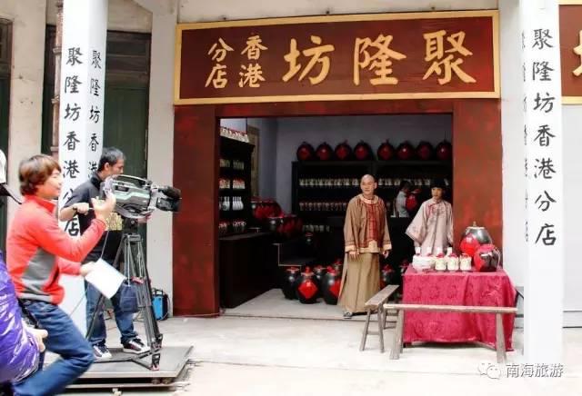 选址建设佛山影视产业园,通过优惠政策和优质服务,吸引国内外电影图片