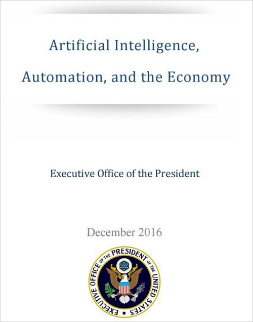 """人工智能驱动自动化经济 政府将要面临重大挑战"""""""