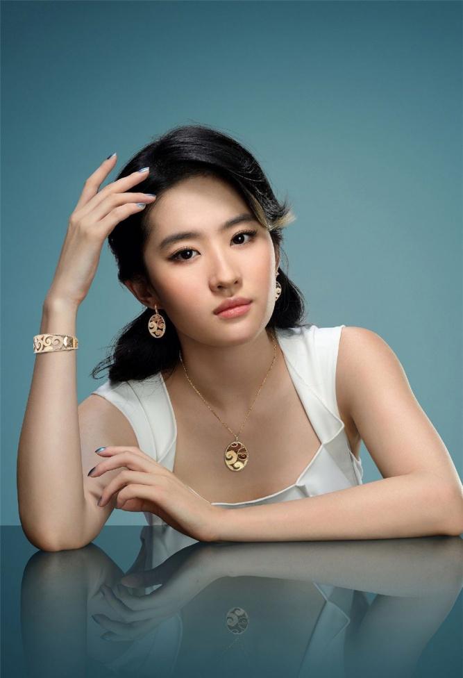刘亦菲珠宝唯美时尚写真