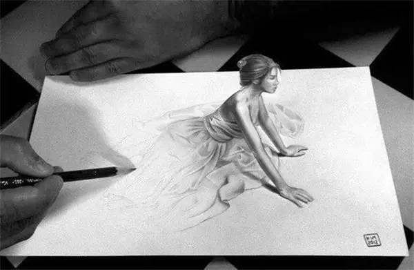 3D 铅笔手绘图片