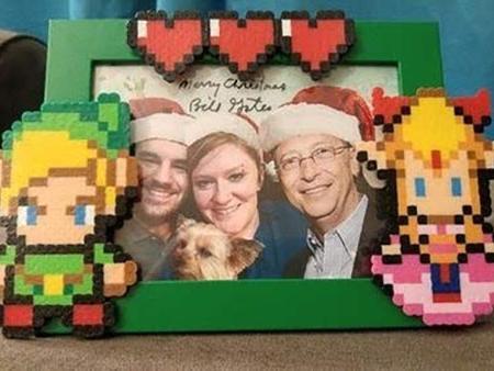 """欧美嘉丨圣诞节交换礼物,她居然收到比尔盖茨送的"""""""