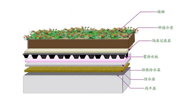 楼顶花园排水板的采购建议