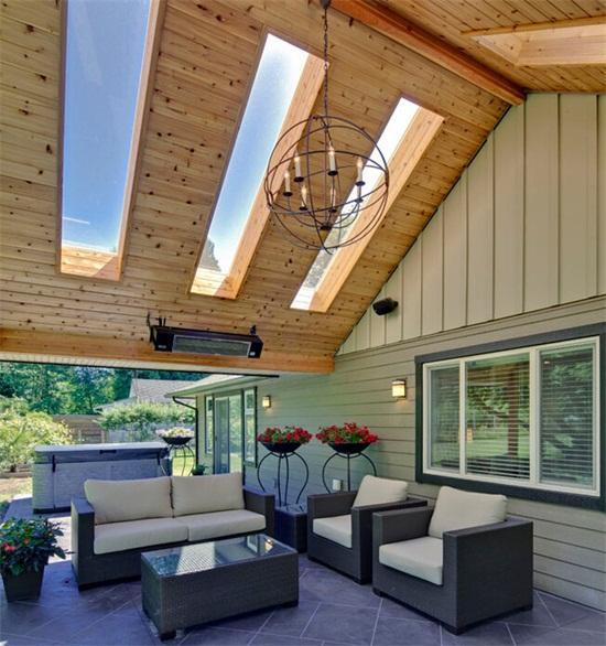 17款室内天窗设计效果图!图片