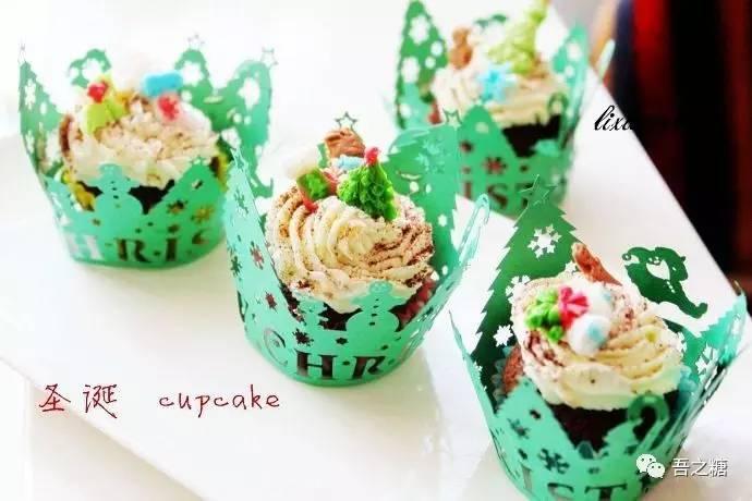 圣诞节甜品图片