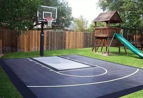 2017 for Cost to build a backyard basketball court