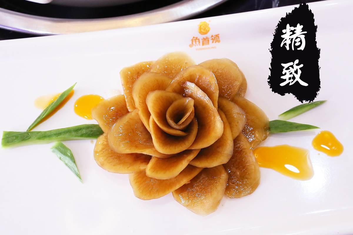先喝汤,吃鱼肉,再涮菜! 因此丰富的火锅配菜完全贴心!