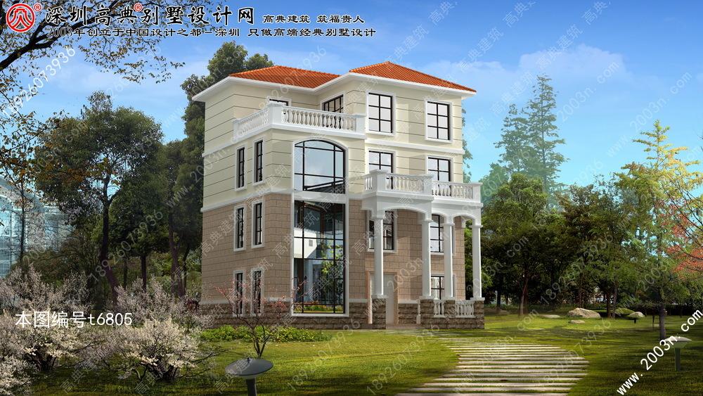 别墅设计图纸, 农村盖别墅设计大全, 四层别墅外观效果图