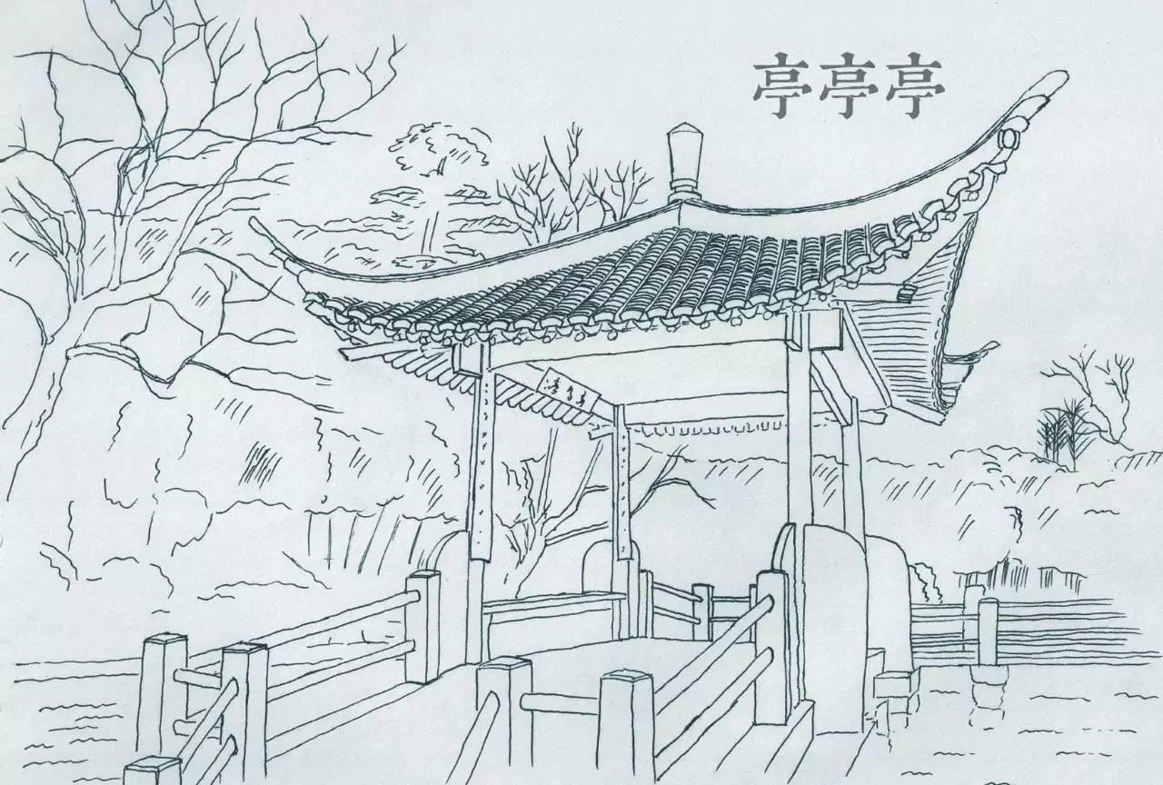 简笔画 手绘 素描 线稿 1280_864
