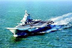 图文:辽宁舰编队首次出远海训练