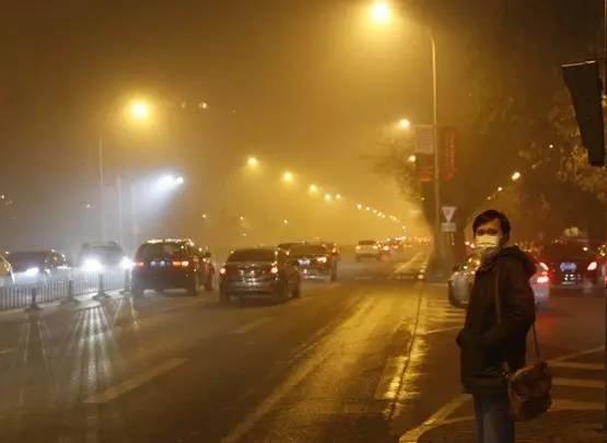 """空气污染指数最高的居然不是帝都,而是……"""""""
