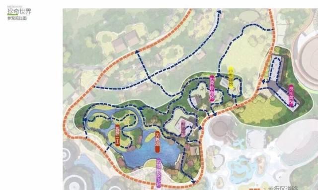 建成的金牛湖野生动物王国分为10个主题核心区