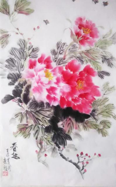 职业画家杨东胜艺术简历图片