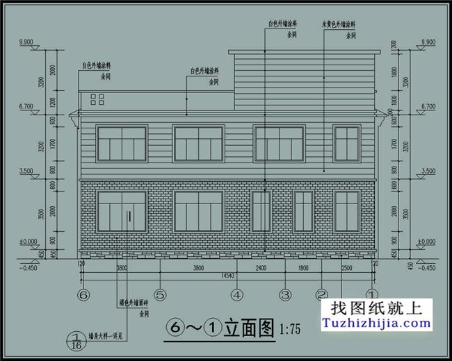 30万左右新农村二层楼房设计图纸及效果图