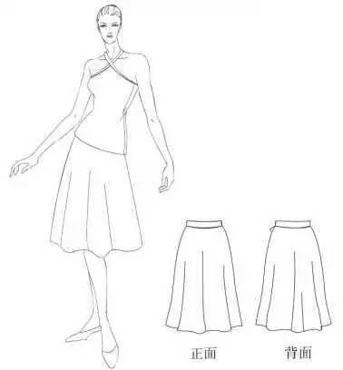 10种裙装的结构设计与制图