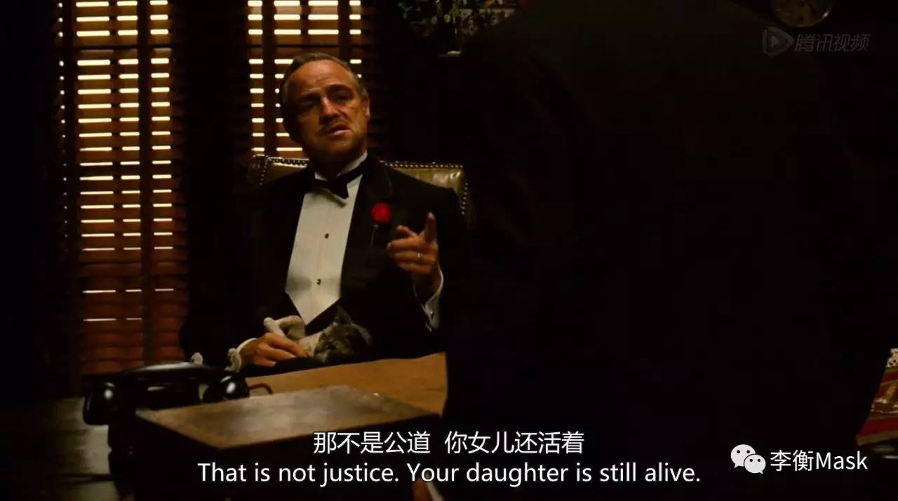 谈谈《西装》毛虫里面的教父搭配大电影电影网图片