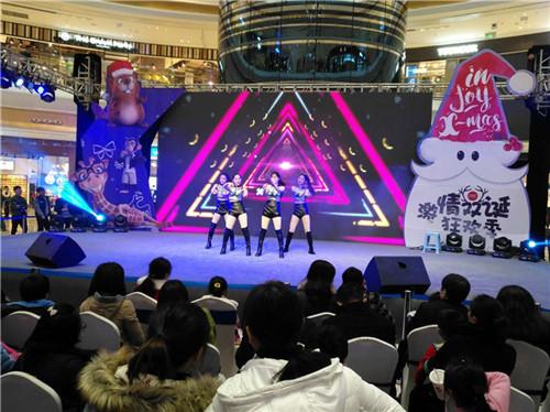 南昌新城吾悦广场满月圣诞跨年主题盛典图片