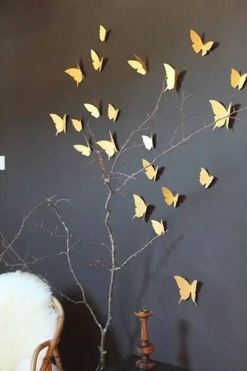 创意手工:枯树枝的华丽变身!图片
