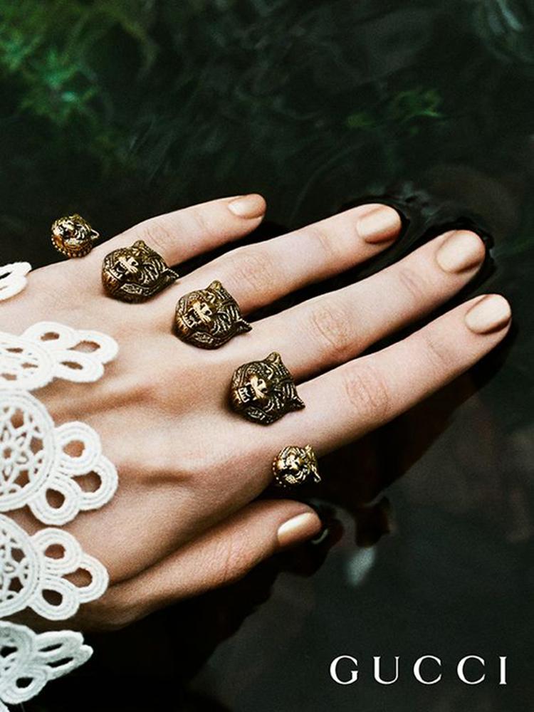 除了包包,Gucci美到让人欲罢不能的还有珠宝