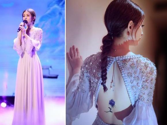 穿上兰裙赵丽颖梦幻如仙女,林心如成古典美人,天王嫂昆凌美哭了