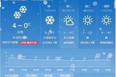 雨雪来了宁河人今天出行小心