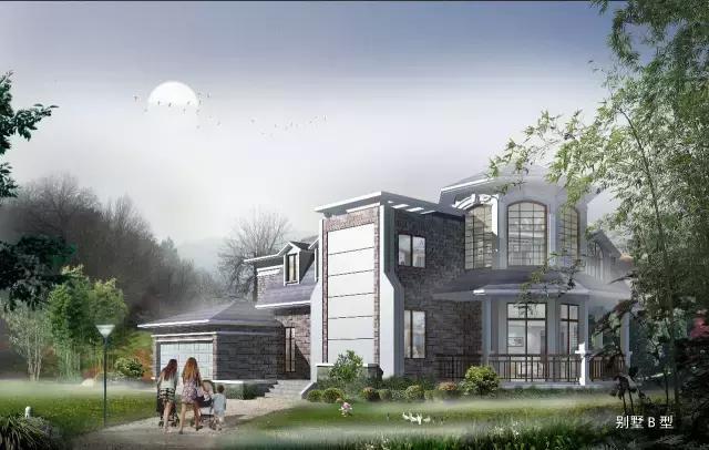 农村17x20二层别墅设计图,欧式复古风造价40万