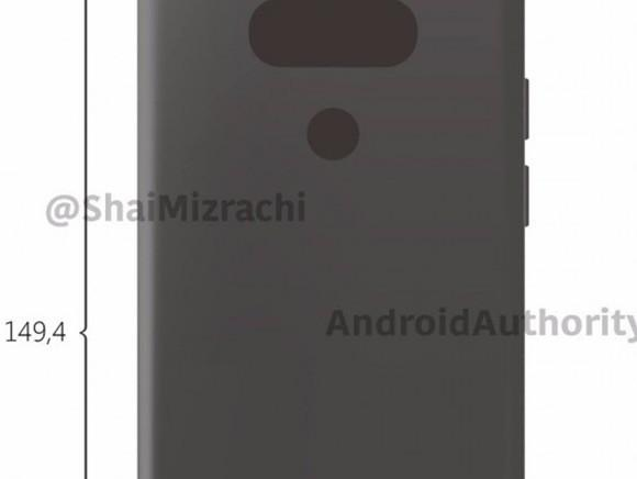 "LG G6渲染图曝光 或去除模块化功能"""