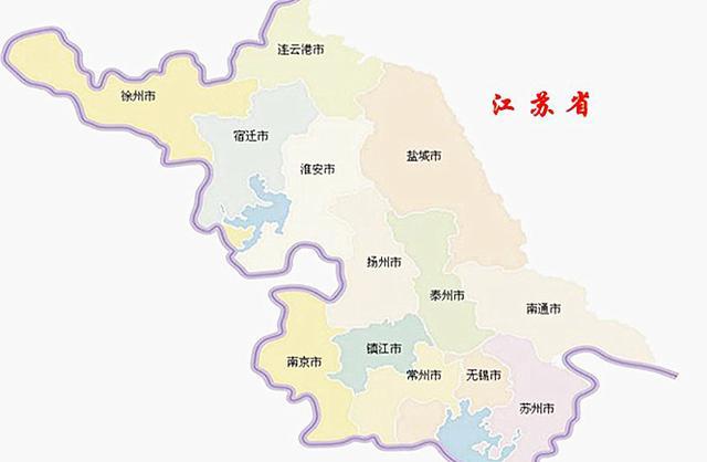 江苏省地�_新一线城市15个,江苏省占3个!为什么都在苏南?