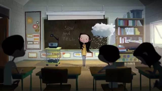 """暖心圣诞治愈动画短片 《安娜和她的云》"""""""