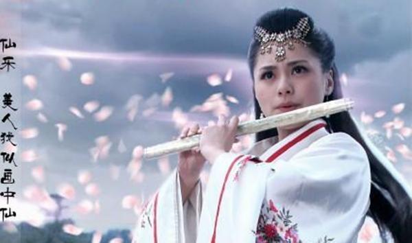 四位最惊艳的吹笛古装女子 刘诗诗第二 最美是她!