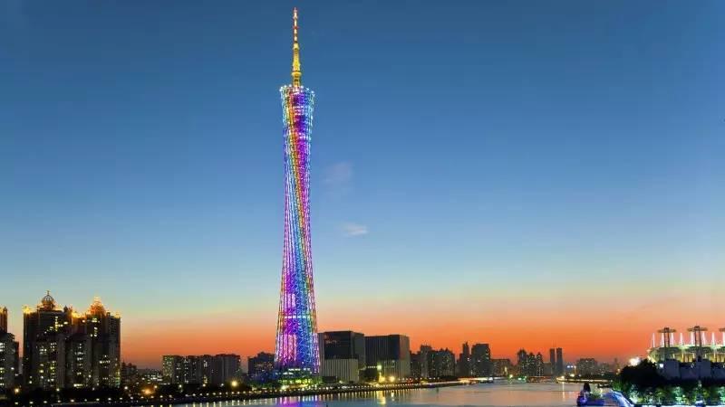 第六站   广州塔 - 广州电视塔 ,广州的地标建筑,昵称『小蛮腰』