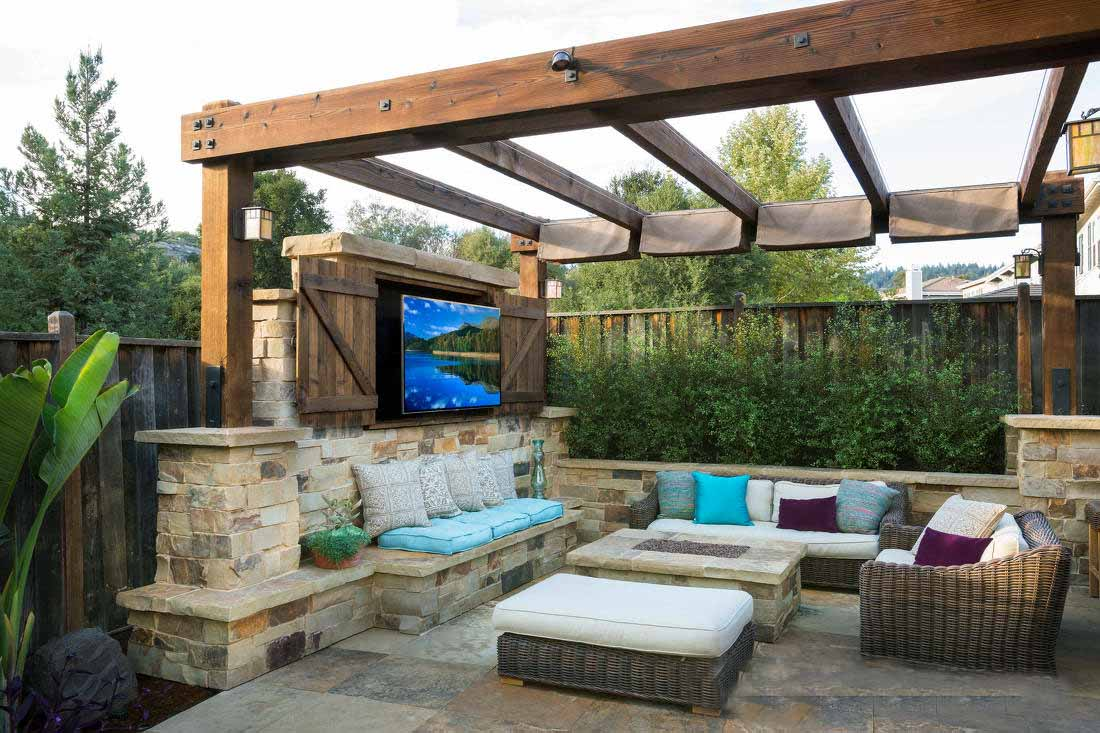 Image result for ideas for outdoor patio