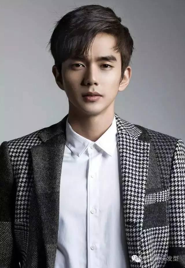 亚洲男士发型图片