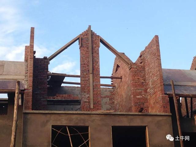 湖南宁乡小伙花20万建欧式住宅,父母看后沉默了图片
