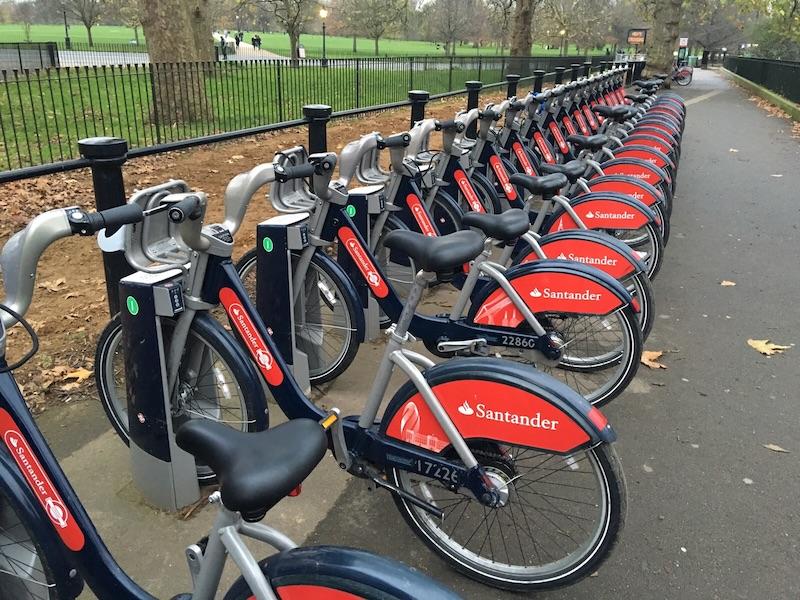 汽车 正文  (图片来自 google) 再来说说价格: 伦敦的公共自行车收费