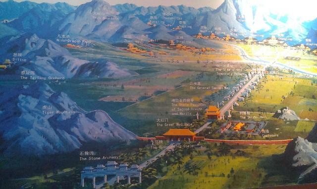 明十三陵占地40平方公里,清东陵占地80,差距真大青湾澳别墅钱图片