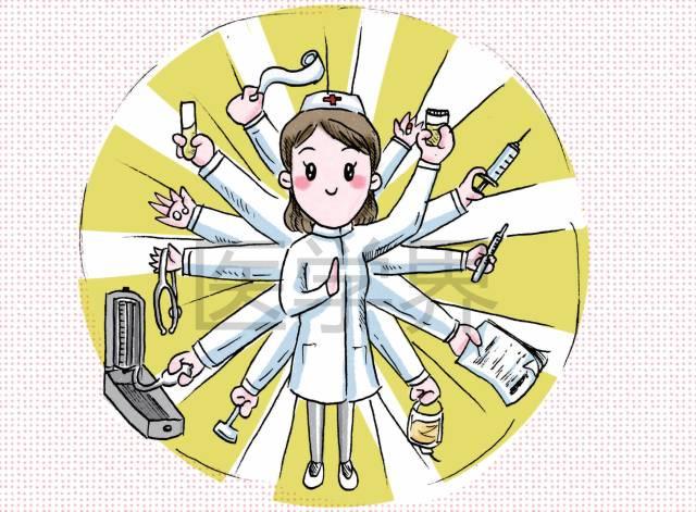 N大漫画搞笑漫画,我只服科室与ICU!sister急诊图片
