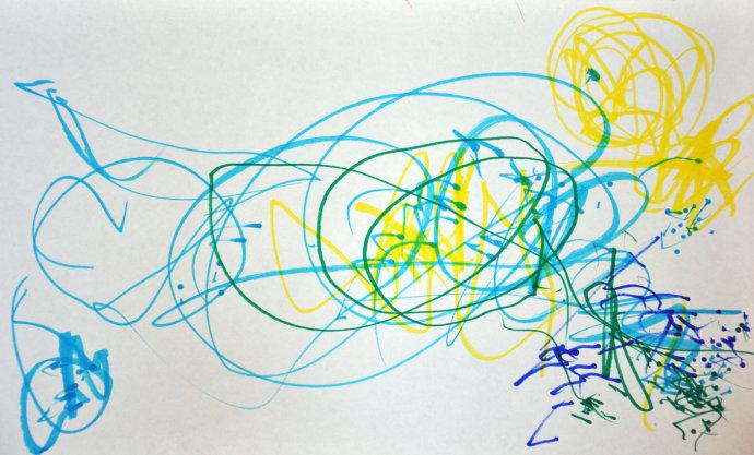 2岁宝宝最适合学画画