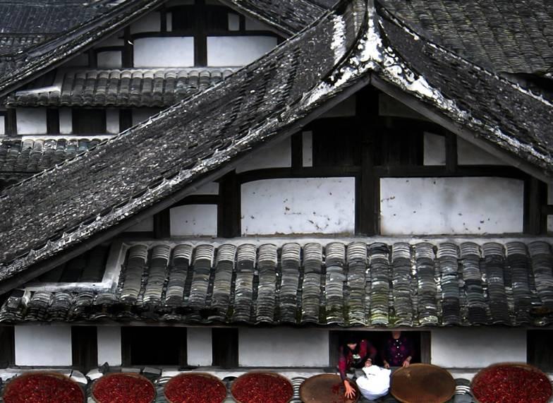 中国式瓦房,惊艳了谁的时光?图片