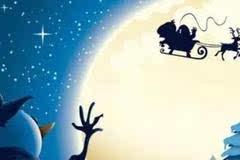 圣诞节,没有驯鹿你还不得有辆车?