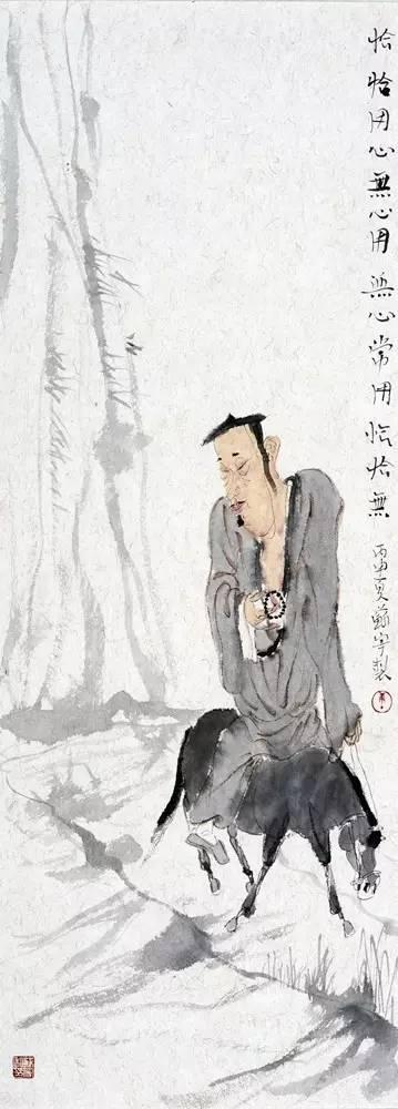 观画感禅 禅味水墨画家唐苏宁