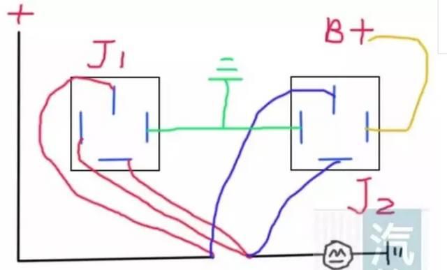 暗锁内部结构图