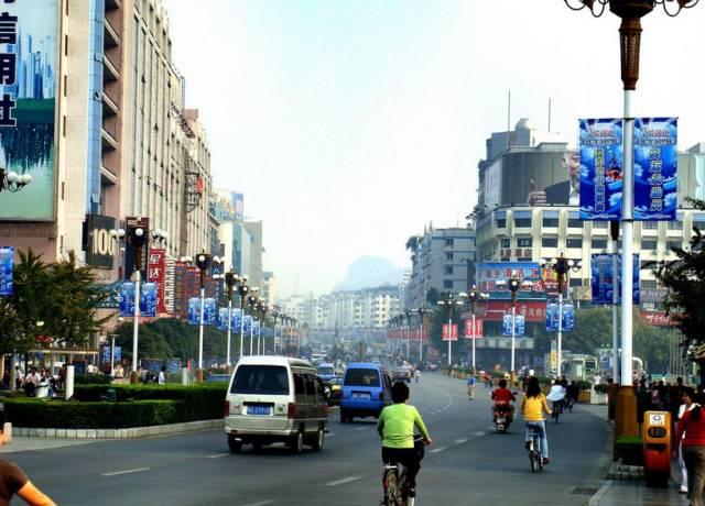 桂林中山路主干道终于动工了!工期长达6个月!图片