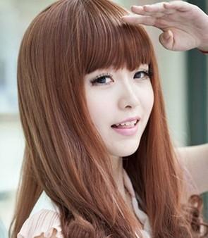 圆脸适合的女生发型图片图片