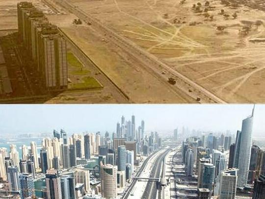 """世界主要城市半个世纪变化对比,上海深圳认不出了"""""""