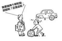 新轮胎到底应该装在前轮还是后轮?99%的人都不知道!