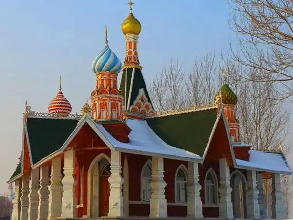 """美景  冬季到伏尔加来踏雪"""""""