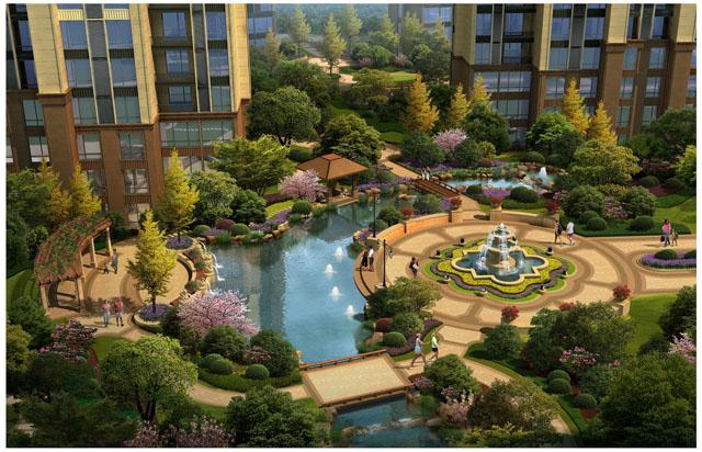 住宅小区景观设计之植物配置与发展趋势 - 好养护